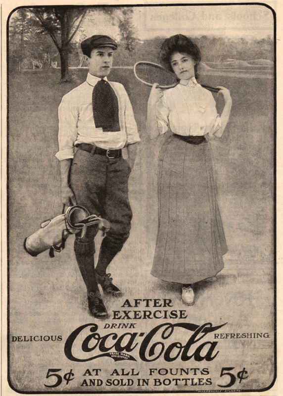 After exercise drink coca-cola 1905