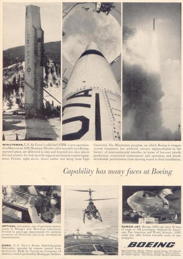 Boeing: Minuteman, 1963