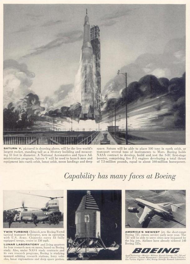 Boeing: Saturn V, 1963