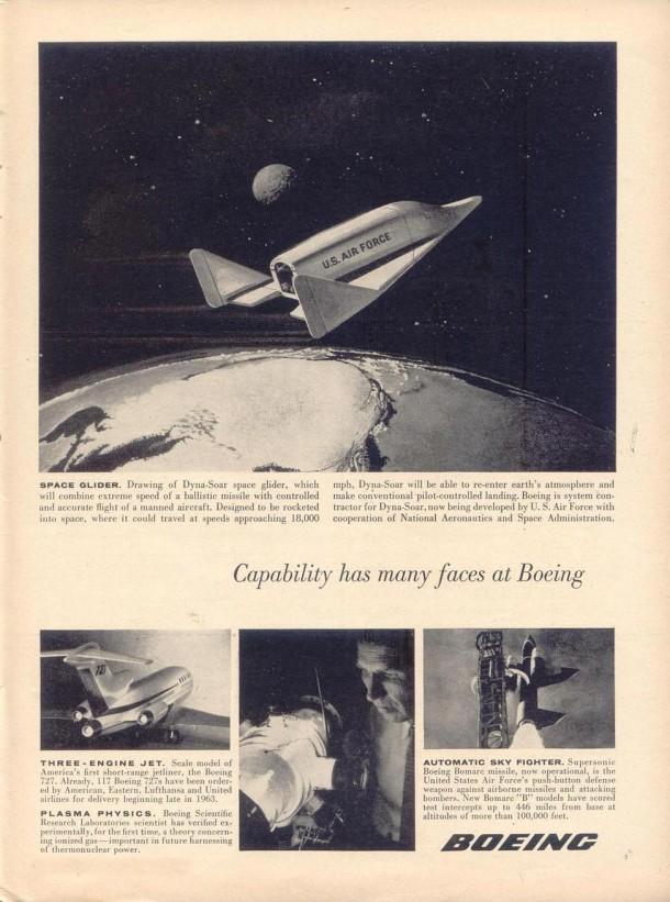 Boeing: Space Glider, 1961