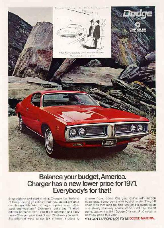 Balance your budget, America, 1971