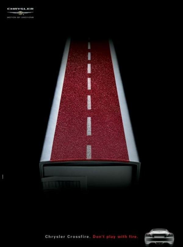 Chrysler Crossfire: Road, 2004