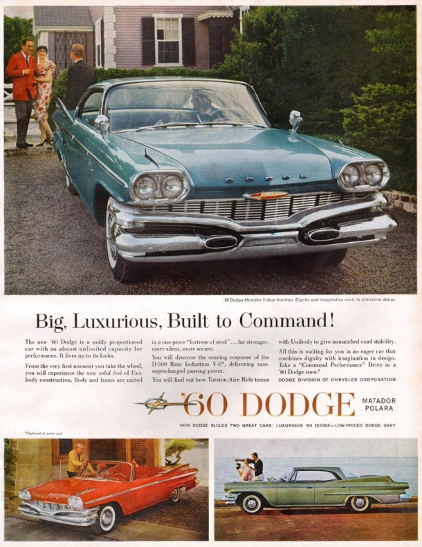 Big, luxurious, built to command!, 1960