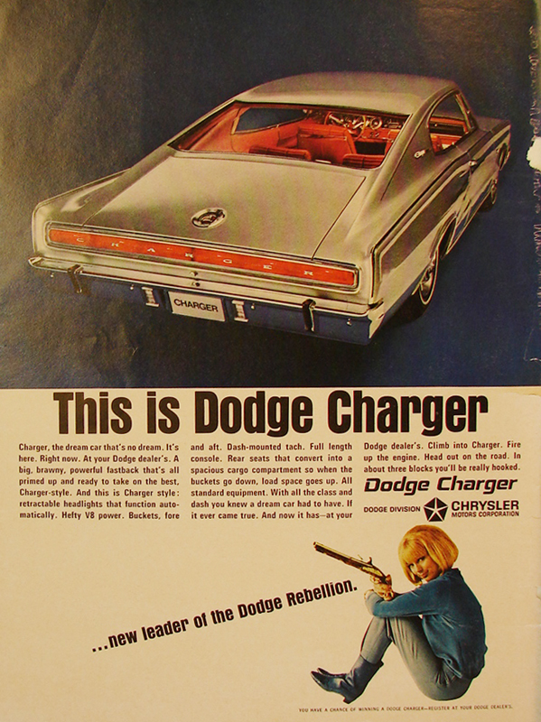 This is Dodge Charger, 1966