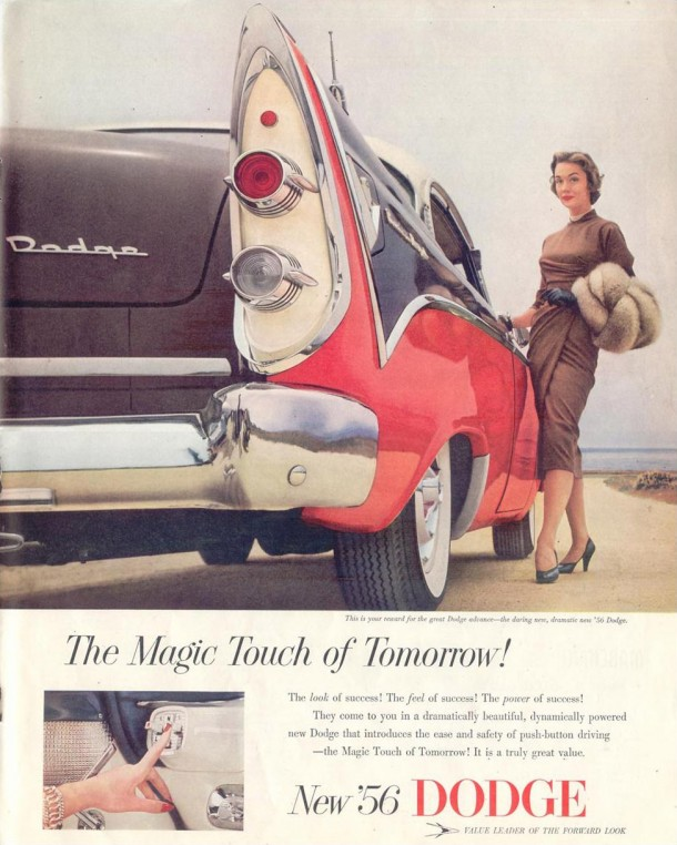 The magic touch of tomorrow!, 1955
