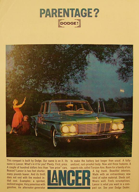 Parentage?, 1961