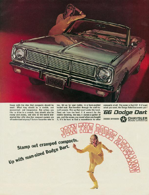 Join the Dodge rebellion, 1966
