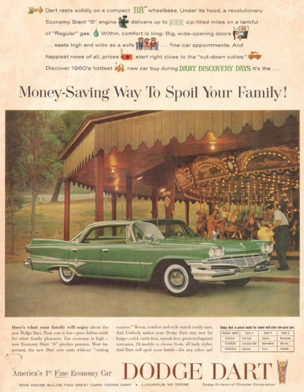 Money-saving way to spoil your family!, 1960