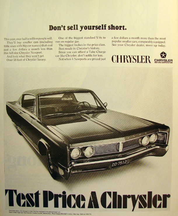 Don't sell yourself short, 1967