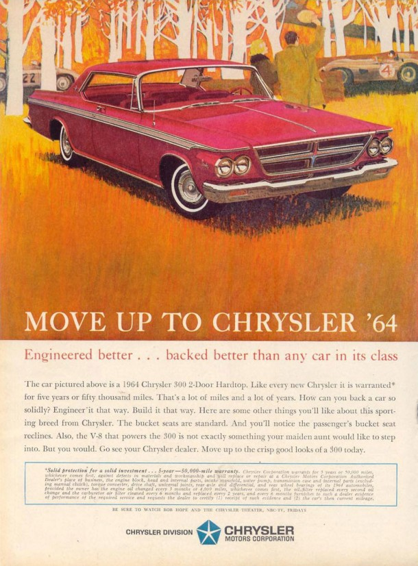 Engineered better... Backed better than any car in its class, 1963