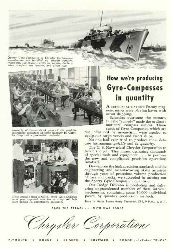 How we're producing Gyro-compasses in qunatity, 1944