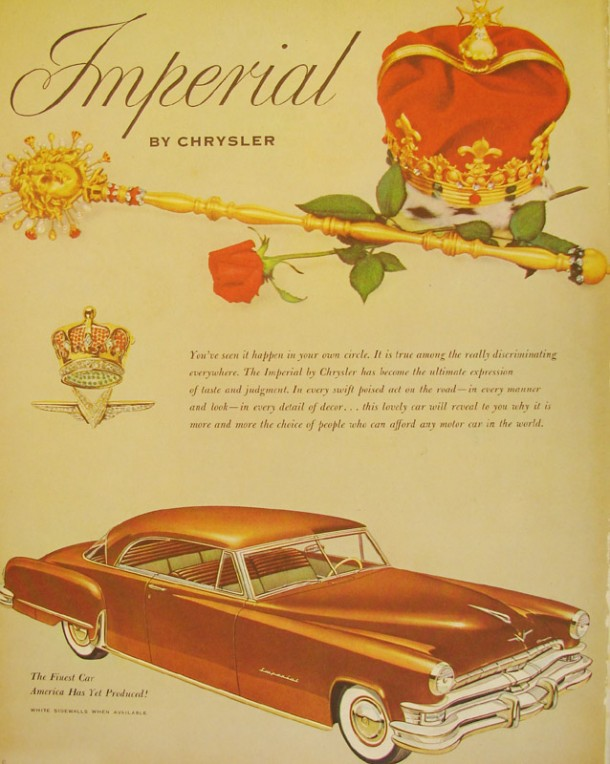 The finest car America has yet produced!, 1952