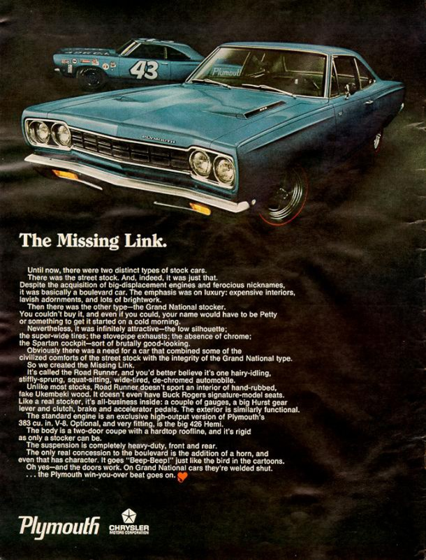 The missing link, 1968