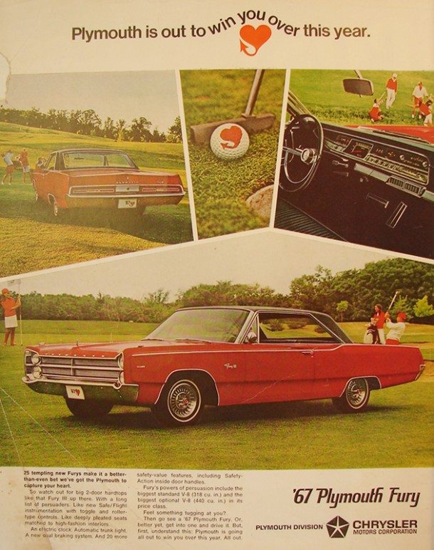 Plymouth is out to win you over this year, 1966