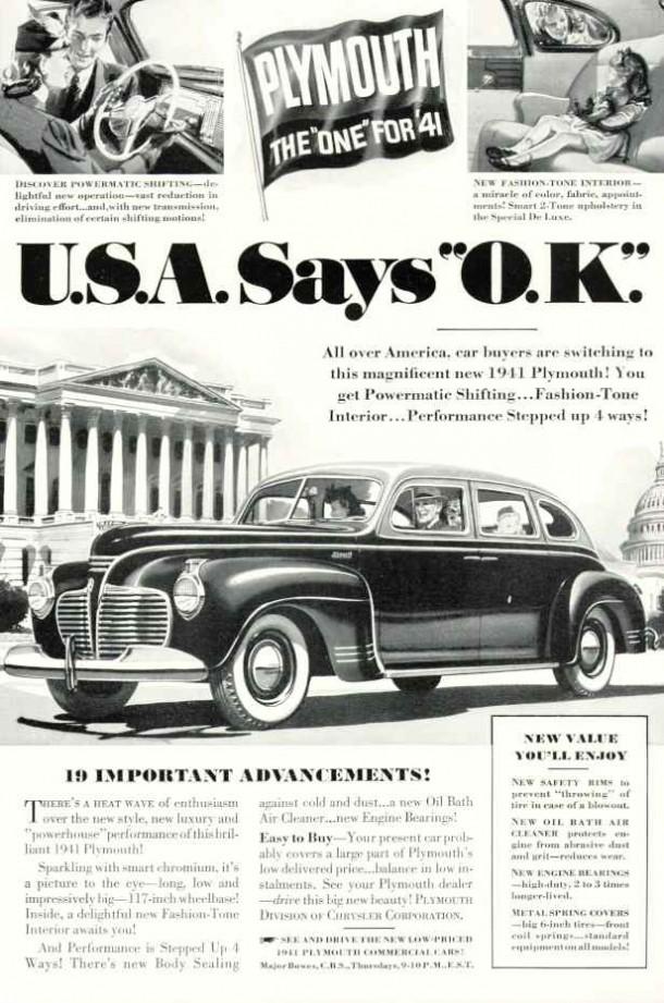 U.S.A. says O.K., 1940