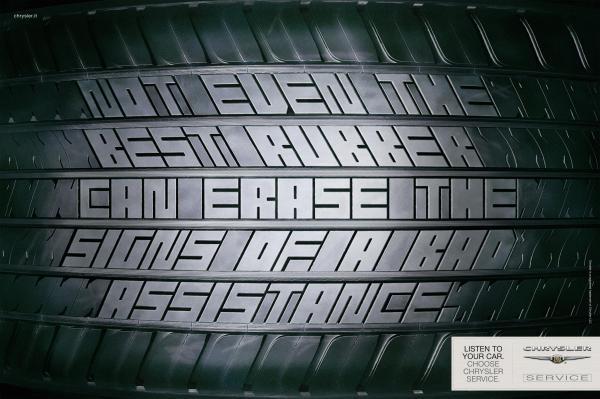 Chrysler service: Tyre, 2008