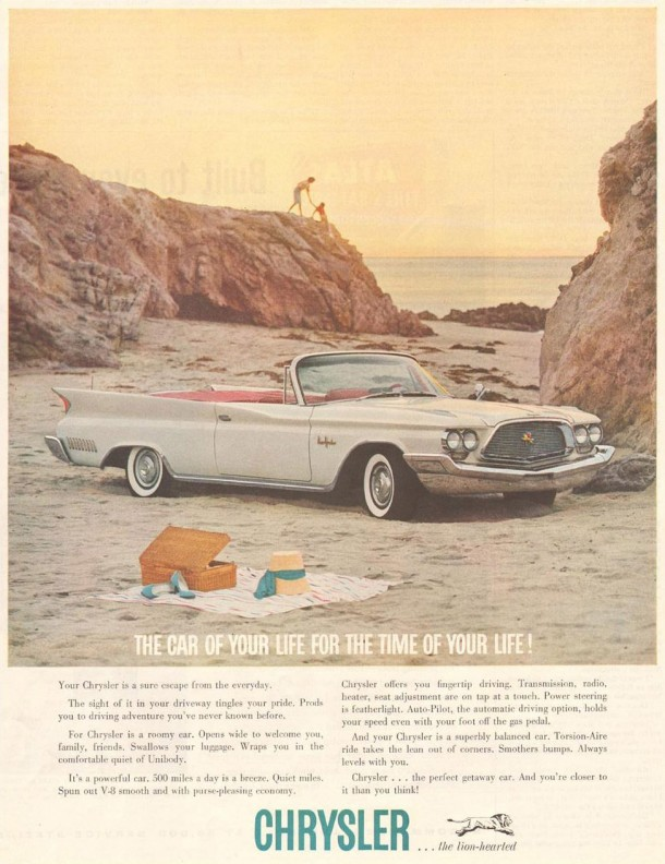The car of your life for the time of your life!, 1960