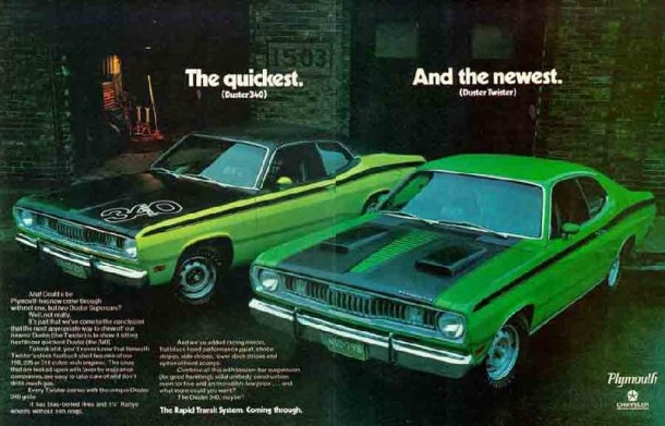The quickest and the newest, 1971