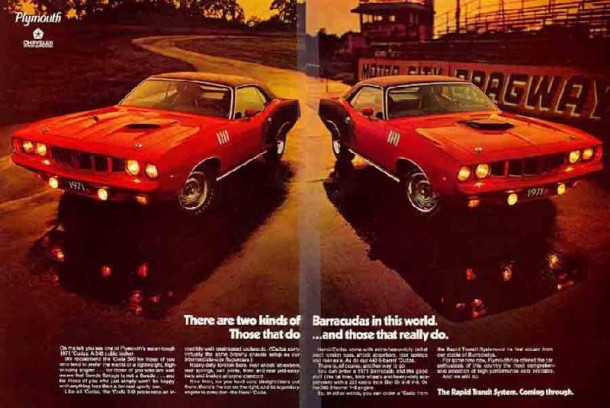 There are two kinds of Barracudas in this world, 1971