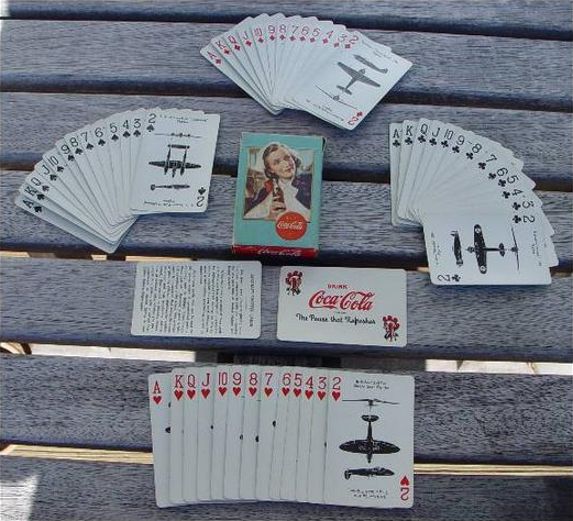 Coca-Cola airplane spotter cards 2