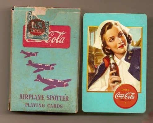 Coca-Cola airplane spotter cards 3