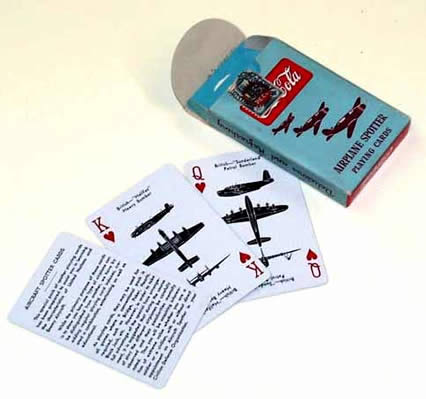 Coca-Cola airplane spotter cards 4