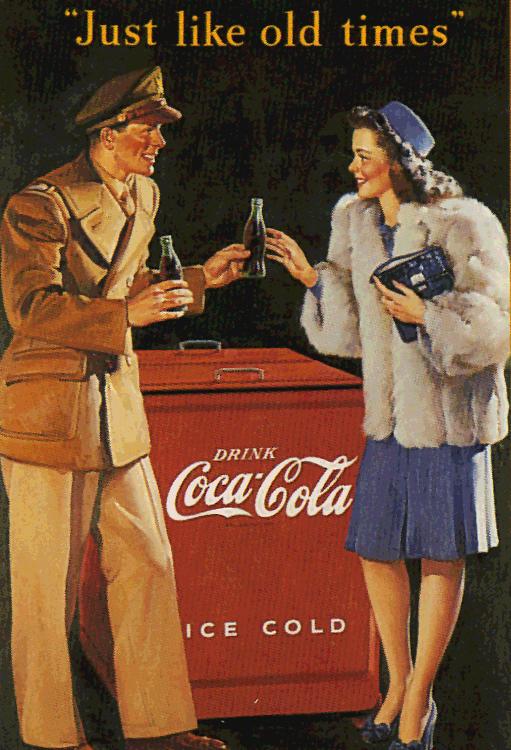 """Gil Elvgren illustration for """"Just Like Old Times"""", c.1945"""