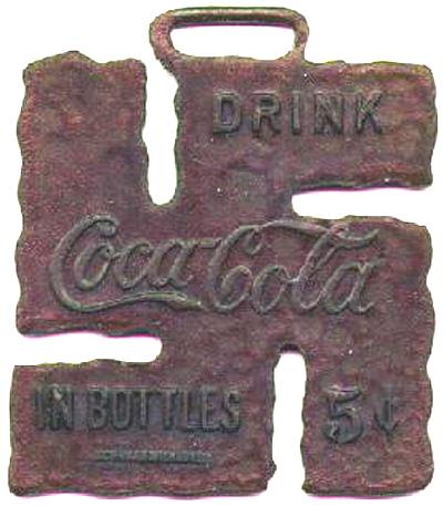 Coca Cola swastika