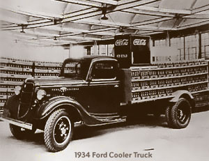 Coca-Cola 1934 Ford Cooler Truck