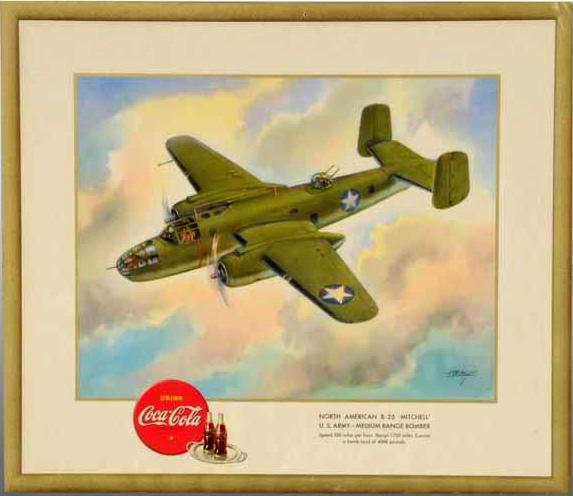 "B25 ""Mitchell"" U.S. Army - medium range bomber"