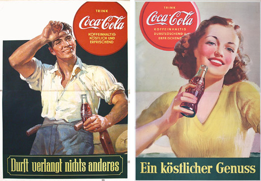 Coca-Cola ads Nazi Germany 1939