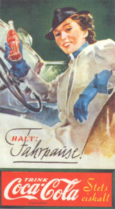 Coca-Cola advert Third Reich 1938
