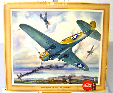 U.S. Army Air Force Warhawk 1943