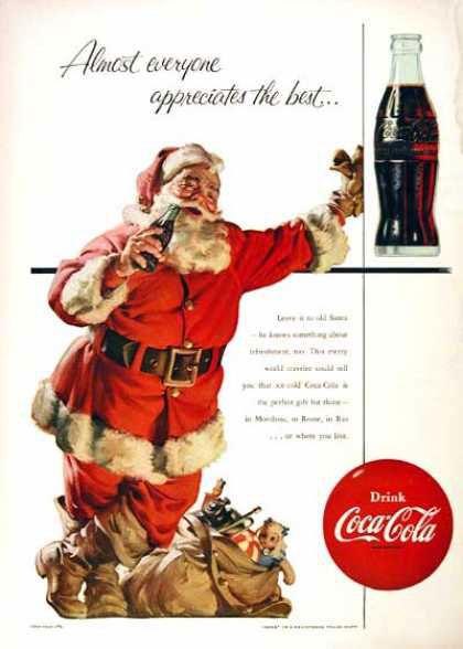 Almost everyone appreciates the best... 1955