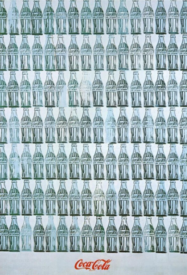 Coca-Cola green bottles by Andy Warhol 1962