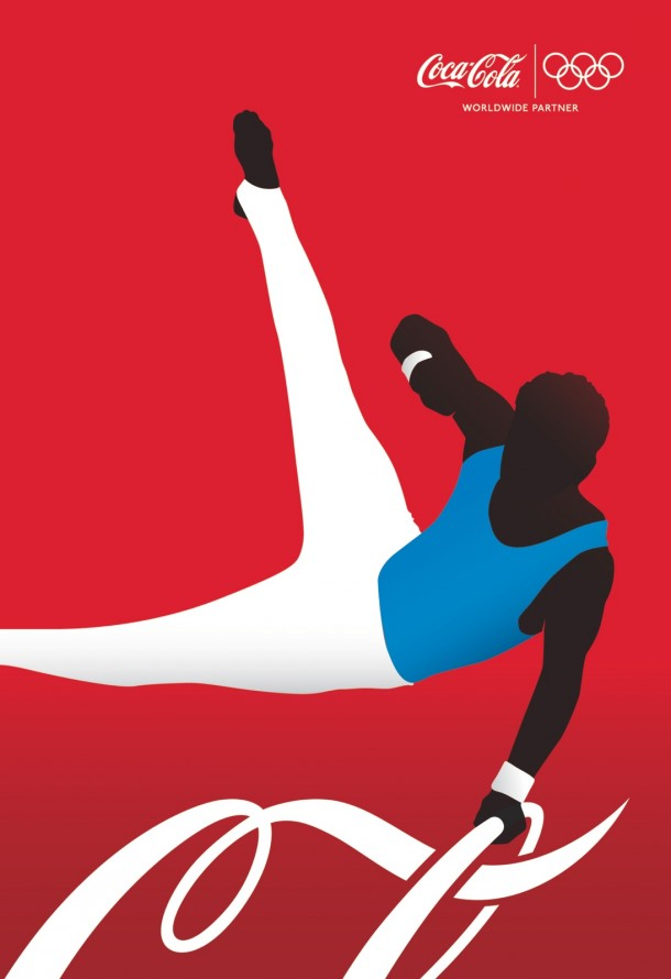 Coca-Cola athletes: Artistic Gymnast, 2012