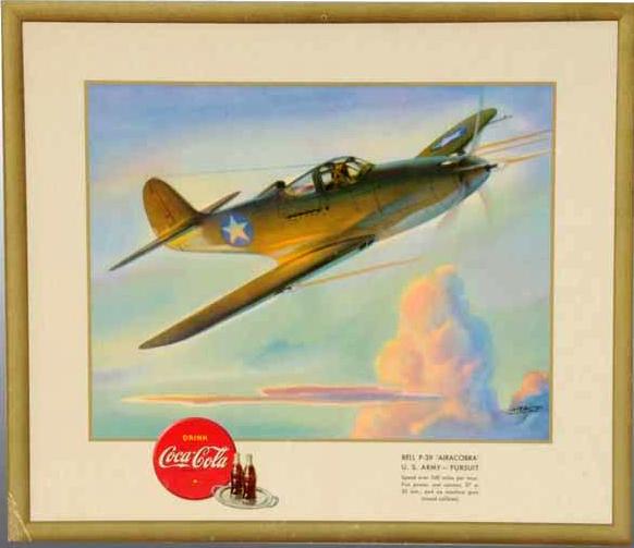 "Bell P-39 ""Airacobra"" U.S. Army 1943"