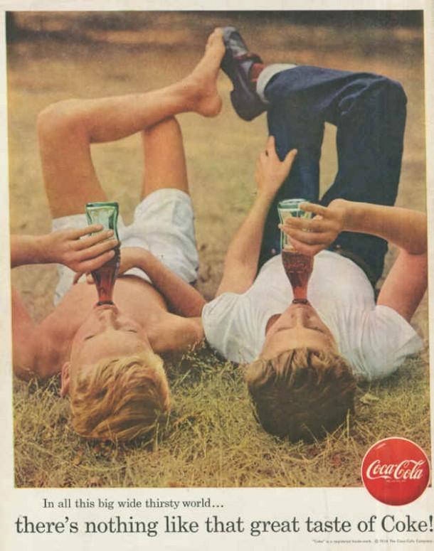 Coca-Cola big wide thirsty world 1956