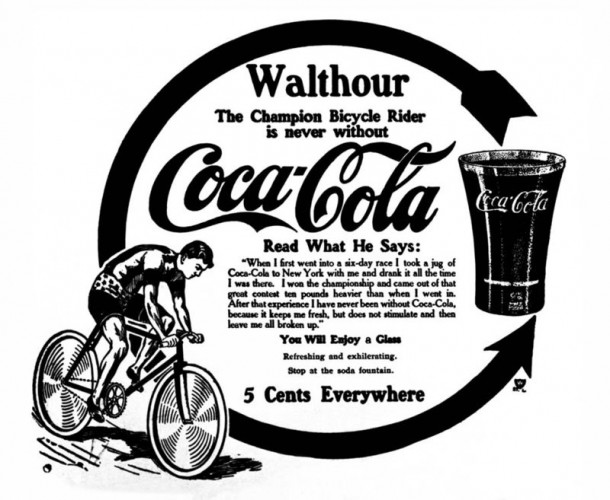 Bobby Walthour newspaper ad 1909