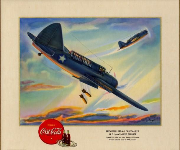 "Brewster SB2A-1 ""Buccaneer"" U.S. Navy - dive bomber 1943"
