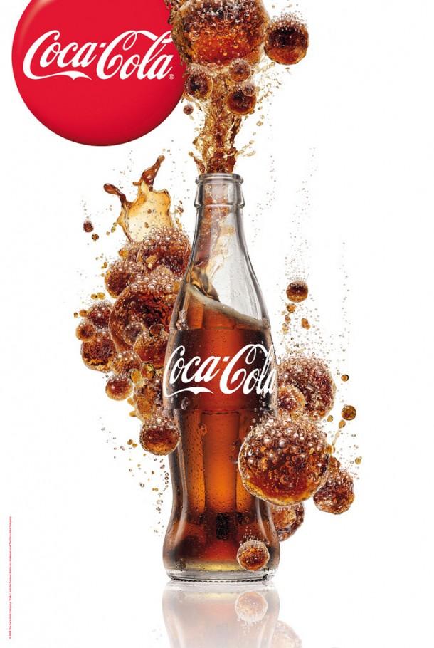 Coca-Cola bubbles 2009