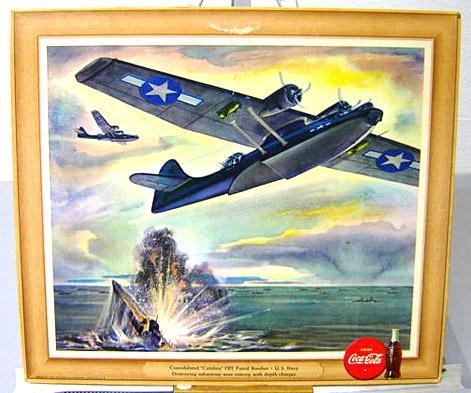U.S. Navy Catalina bomber 1943