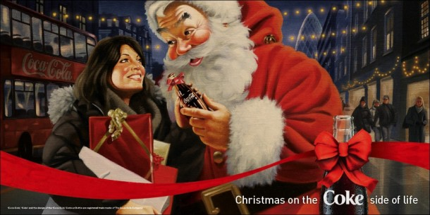Christmas on the Coke side of life 2009