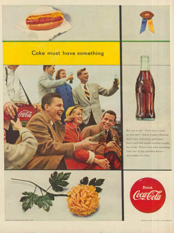 Coke must have something 1953