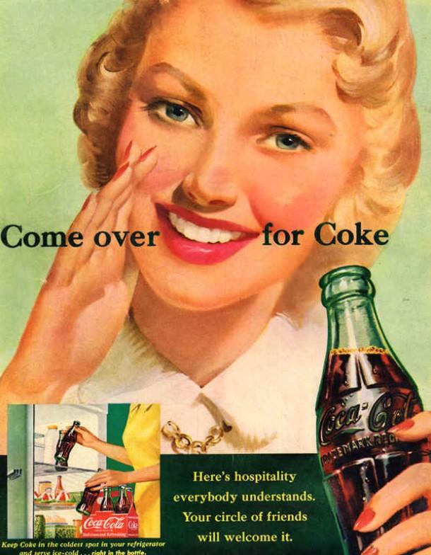Come over for Coke 1951