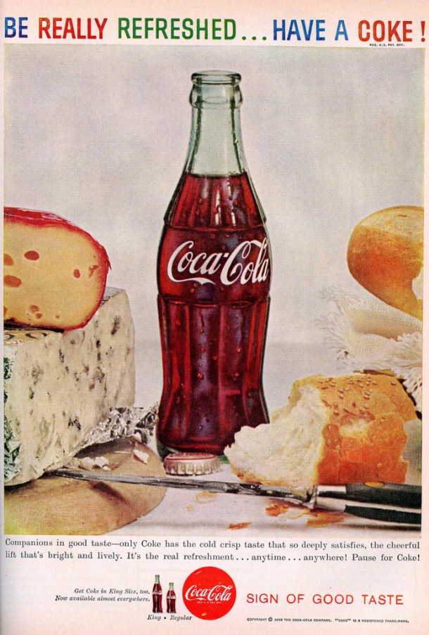 "Coca-Cola ""Companions in good taste"" 1959"