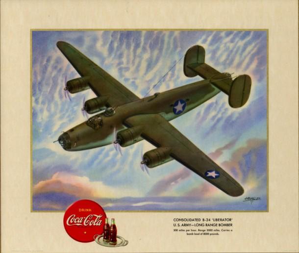 "Consolidated B-24 ""Liberator"" U.S. Army - long range bomber 1943"