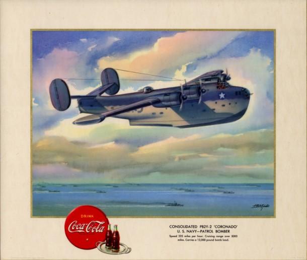 """Consolidated PB2Y-2 """"Coronado"""" U.S. Navy - patrol bomber 1943"""
