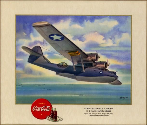 "Consolidated PBY-5 ""Catalina"" U.S. Navy - patrol bomber 1943"