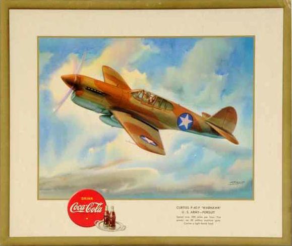 U.S. Army Curtiss P-40-F Warhawk 1943